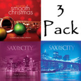 "3 CD Pack ""Smooth Christmas"" + ""Sax In The City 1"" + ""Sax In The City 2"""